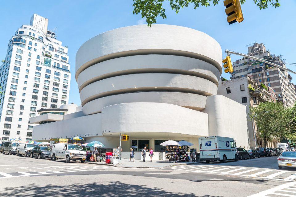 Fachada del Museo Guggenheim de Nueva York