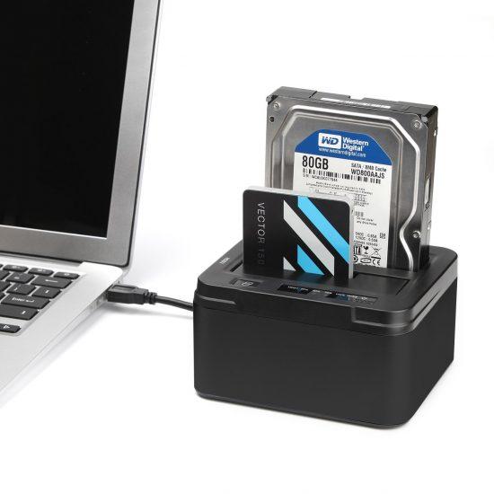Comparativa mejores 4 bases de conexión para discos duros
