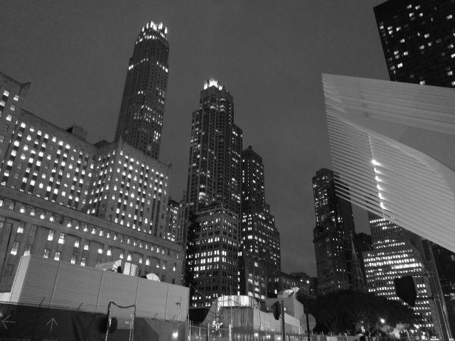 Rascacielos de New York, si miras al cielo desde cualquier calle te sentirás muy pequeño.