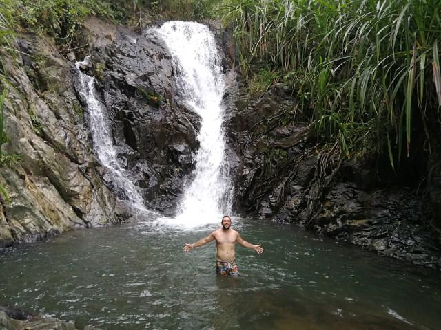 En Bohol se pueden visitar muchas cascadas