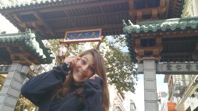 La puerta del dragón es la entrada a Chinatown San Francisco