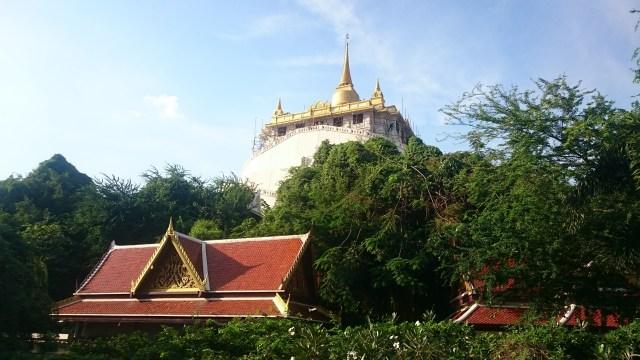 No hay ascensor 😫 La Montaña Dorada de Bangkok