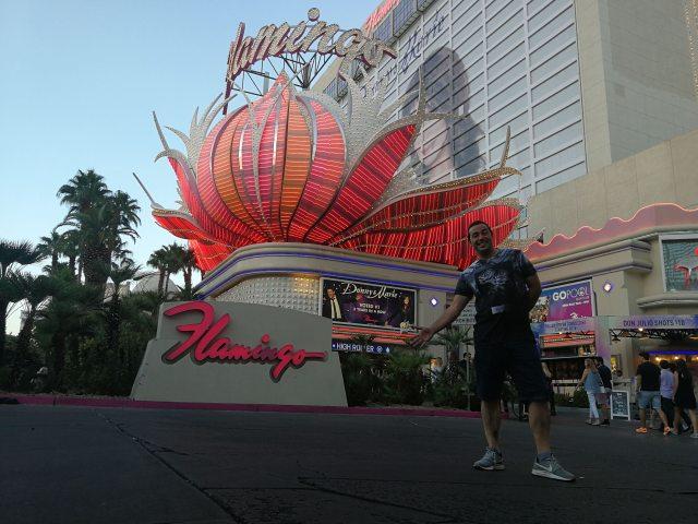 Casarse en Las Vegas era un objetivo, dormir en el flamingo, un sueño.