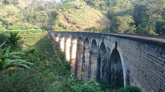 Nine Arch Bridge el principal reclamo de Ella en Sri Lanka