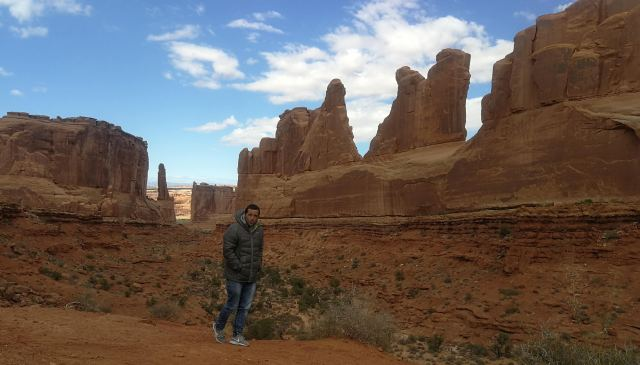 arches viewpoint. que ver en Arches National Park