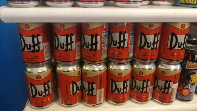Wellcome to Springfield. Cerveza Duff 😋