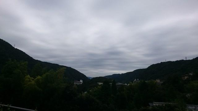 Las vistas desde Hakone son muy bonitas.