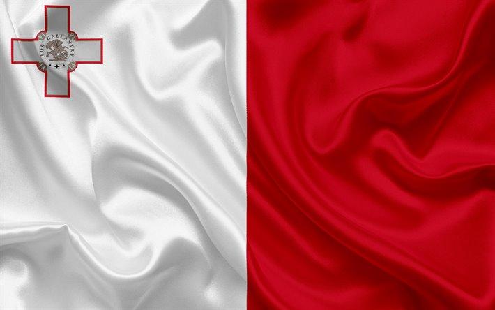 viaje a malta. bandera