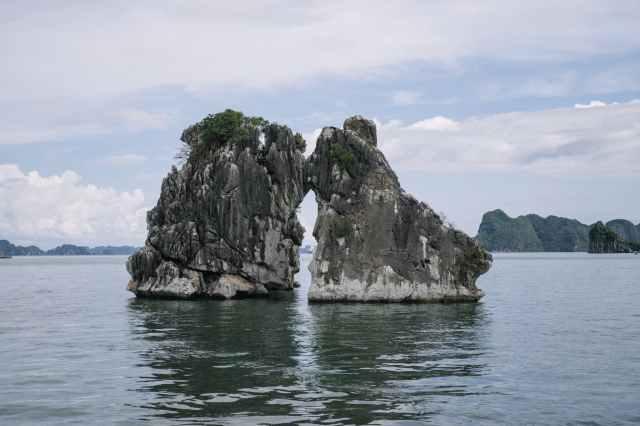 rocas de halong