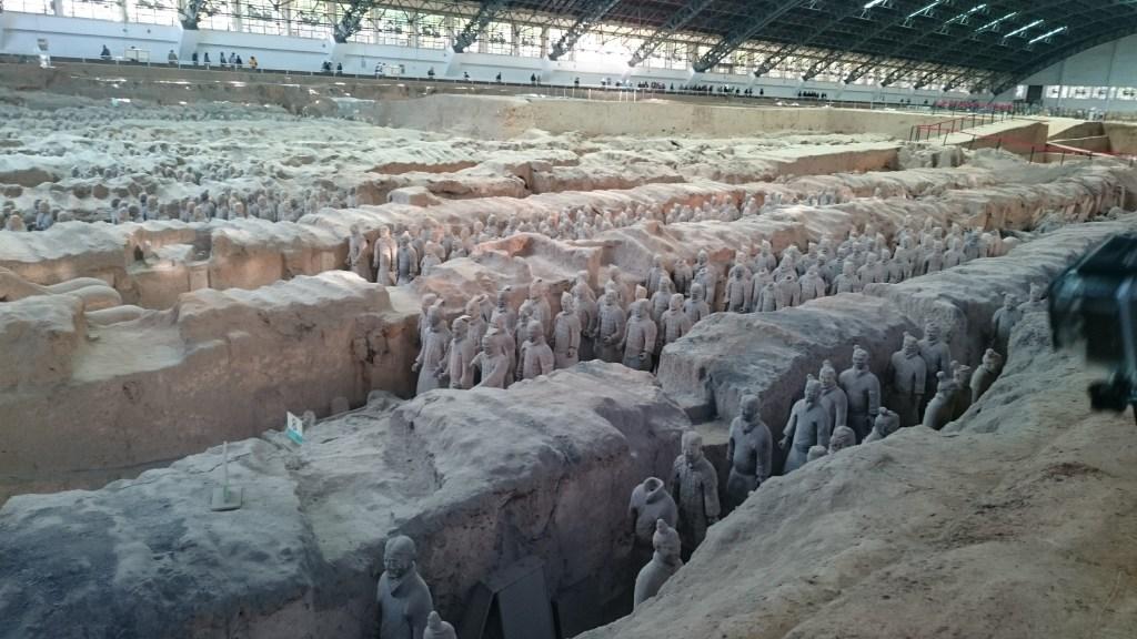 Llegar y visitar los Guerreros de Terracota en Xian.