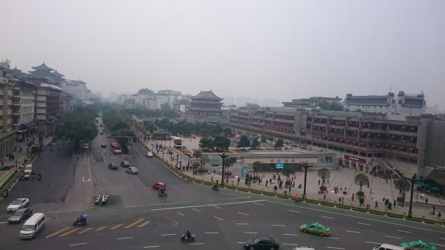 la ciudad de Xian, cuna de los Guerreros de Terracota
