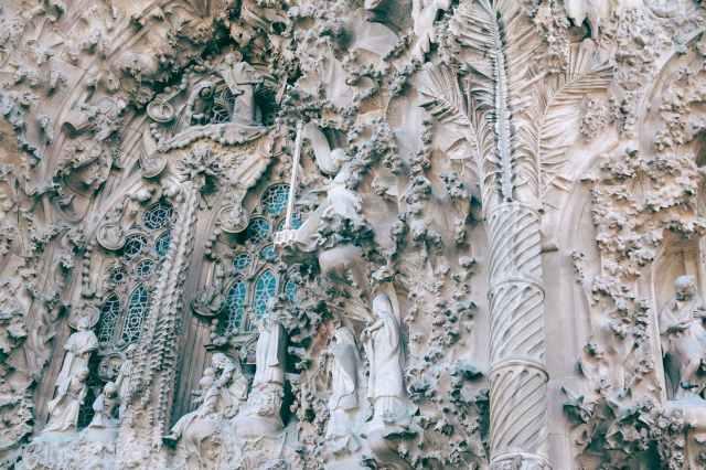 visitar la fachada Sagrada Familia