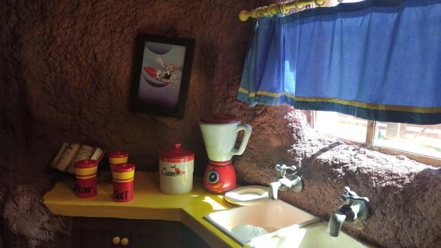 Parque Warner con niños. Bugs Bunny House