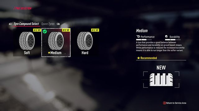 Remember to change tires before each race. The medium mixture is recommended at the beginning. - Career and Rallycross modes in DiRT Rally 2.0 - Basics - DiRT Rally 2.0 Guide
