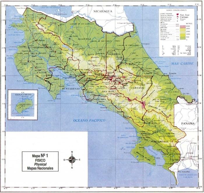 Mapa red ferroviaria