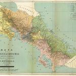 Mapa de la República de Costa Rica