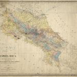 Mapa de 1903 de Costa Rica publicado por la Oficina Internacional de las Repúblicas Americanas