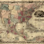 Mapa Estados Unidos de América