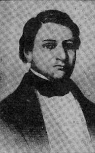 Lic. Francisco Castellón, ciudadano nicaragüense candidato del Partido Liberal o Demócrata, Jefe Supremo en 1856, por disposición de leoneses.