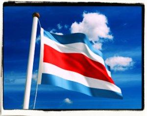 Bandera Costa Rica