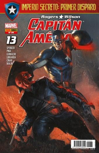 Rogers - Wilson: Capitán América 84 (13)