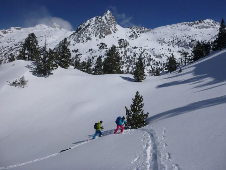 Esqui de montaña Valle de Tena