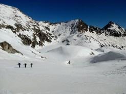 De nuevo foqueando, tras el descenso del Bergus.