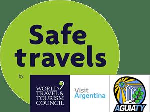 Iguazú Safe Travels stamp
