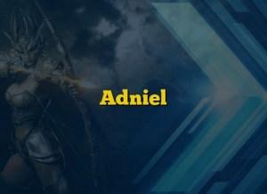 Adniel