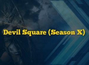 Devil Square (Season X)