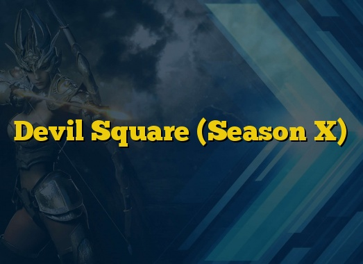 Devil Square (Season X)