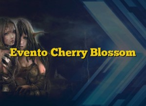 Evento Cherry Blossom