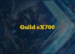 Guild eX700