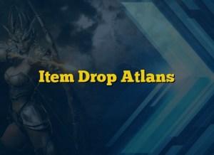 Item Drop Atlans
