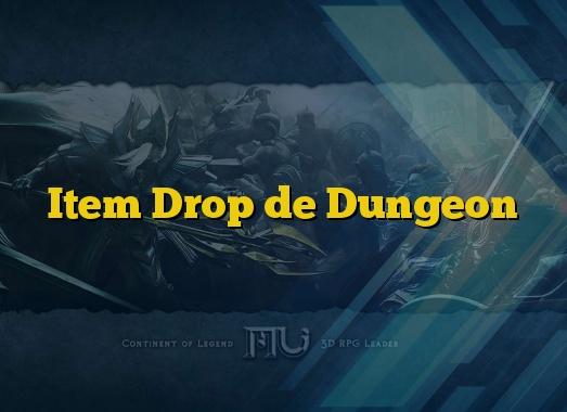 Item Drop de Dungeon