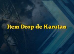 Item Drop de Karutan