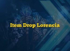 Item Drop Lorencia