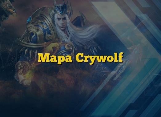 Mapa Crywolf
