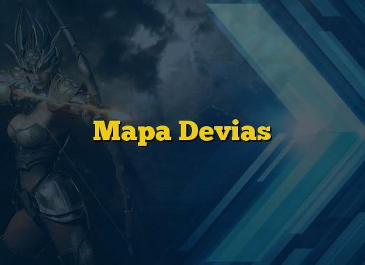 Mapa Devias