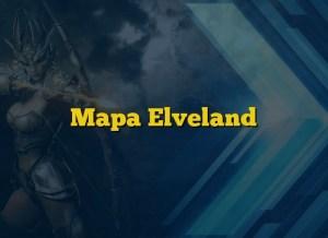 Mapa Elveland