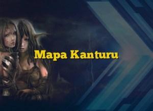 Mapa Kanturu