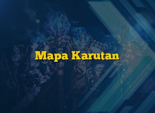 Mapa Karutan