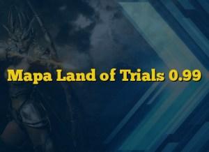 Mapa Land of Trials 0.99