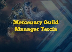 Mercenary Guild Manager Tercia