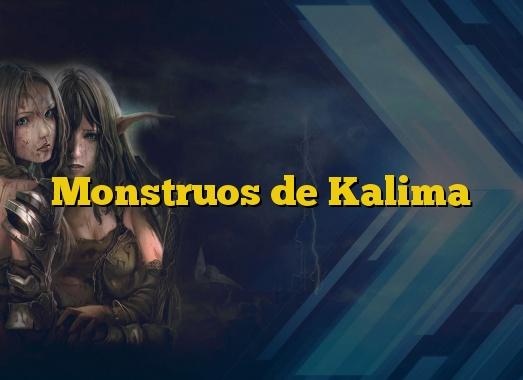 Monstruos de Kalima