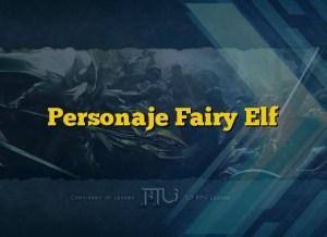 Personaje Fairy Elf