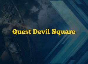 Quest Devil Square
