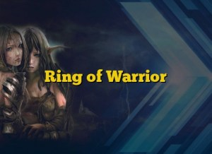 Ring of Warrior