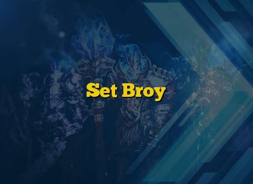 Set Broy