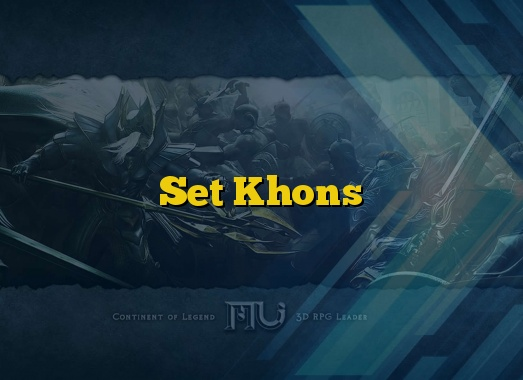 Set Khons